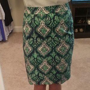 J. Crew Pencil Skirt Size 00🍀